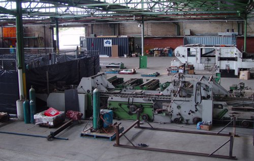 Machinery and Factory Relocation Locally and Internationally