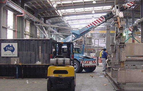 Machinery Relocation and Machinery Installation
